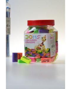 Doms Erasers 100 Pcs Box Item No:3439