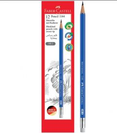 FABER-CASTELL PENCIL 12 PCS PACK BLACKLEED