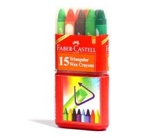 FABER-CASTELL WAX CRAYONS