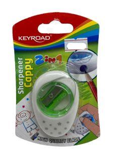 Keyroad Sharpener Cappy 2in1 Item No KR971288