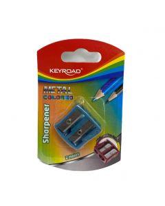 Keyroad Sharpener Metal colored Item no KR971867