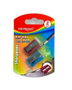 Keyroad Sharpener Metal colored Item no KR971864